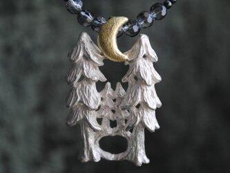 セット『森の上の月』ネックレスの画像