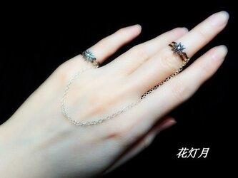 ~ Starlit snow 【twin rings】~の画像
