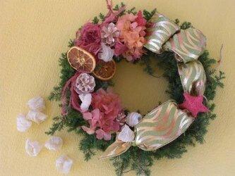 クリスマス マルベリーリースの画像