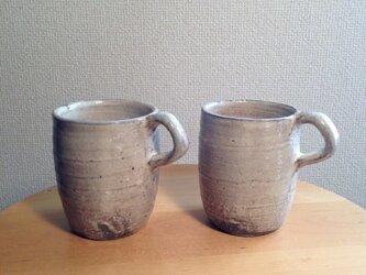 粉引きマグカップ(ペア)の画像