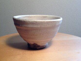 粉引き飯碗(マット)の画像