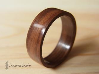 木の指輪~ボリビアンローズウッド~の画像