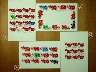 福島赤べこポストカード 2枚セットの画像