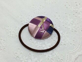 リボン編みの髪ゴム 聖夜の画像