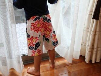 手ぬぐい ズボン(100サイズ)の画像