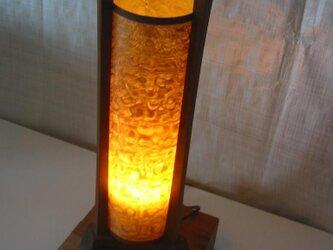 三枠型木製照明(LED電球別途)の画像
