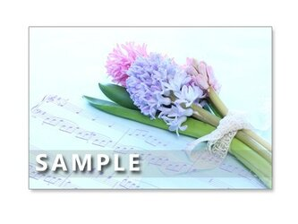 1060)華やかなブーケたち  5枚組ポストカードの画像