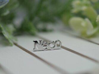 Neco pierced earrings -1-の画像
