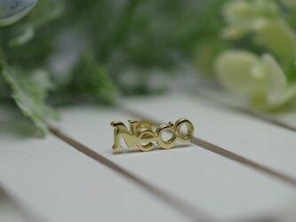 Neco pierced earrings -2- の画像