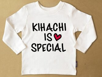 (size80~110)名前入り長袖Tシャツ【special2】の画像
