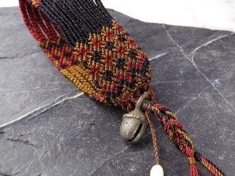 マヤ末裔が作るミサンガを脱着可能に。(No039)17.0cmの画像