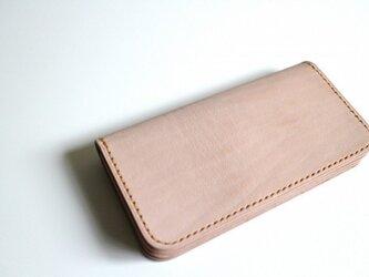 【受注生産品】長財布 ~栃木サドルレザー ver.1~の画像