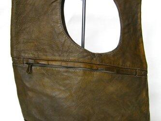 イレギュラーレザーバッグの画像