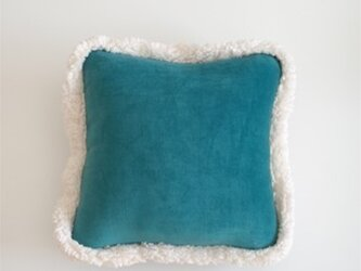 Winter Cushion (green/gray)の画像
