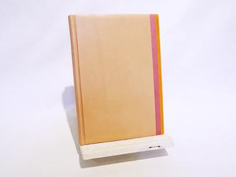 革装3色モザイクノート《B6サイズ/アンバー》の画像