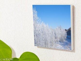 ファブボ「美瑛川の樹氷」(L)■オーダー可の画像