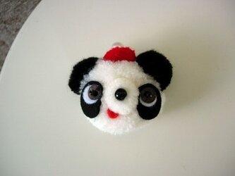 パンダちゃんブローチの画像