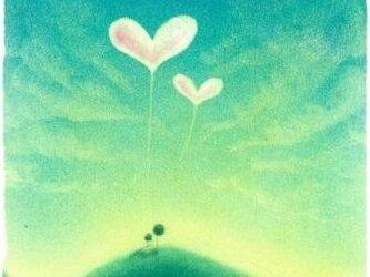 【原画】『旅立ちの朝』(パステルアート)の画像