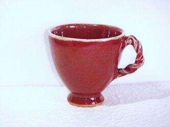 柘榴色のカップの画像
