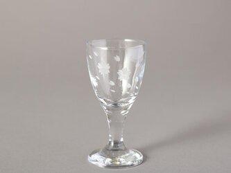 東京切子(花切子)冷酒グラス 「桜吹雪」  冷酒用の画像