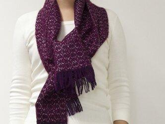 =Sold= ウール柄織(赤紫)の画像