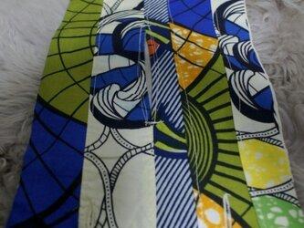 アフリカン カラフル ティッシュカバー(委託)の画像