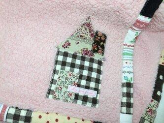 ふわふわお家ブランケット ピンクの画像