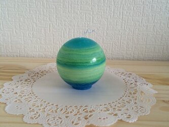【6】Earthキャンドル(緑)の画像