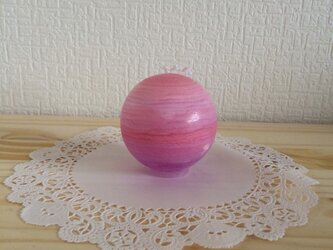 【7】Earthキャンドル(ピンク)の画像