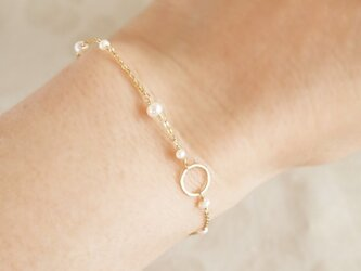14KGF Moon Light Braceletの画像
