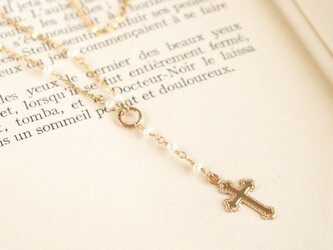 14KGF Rosary Necklaceの画像