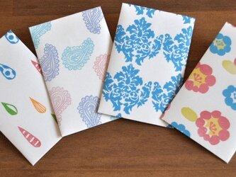 カラフルぽち袋4枚セット【A】の画像