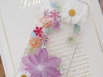 iphone6(4/4s/5/5s/5c)押し花ケース【178】の画像