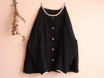 gauze シャツ *ブラック* size FREEの画像