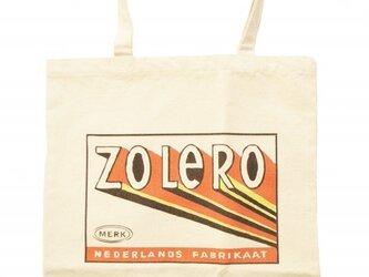 ヴィンテージ風トートバッグ(zoleroの画像