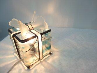 贈り物ランプ(ブルー)の画像