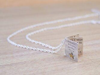 Book型ネックレスの画像
