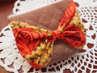 リボンポーチ ミニサイズ Autumn Roseの画像