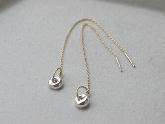 shizuku Pierced earrings (SV/ K10)の画像