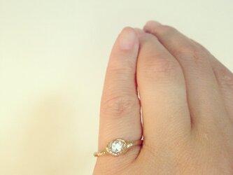 ハマーキーダイヤモンドリングの画像