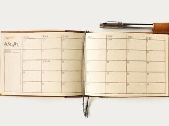 手帳 本体 月間 メモ欄.p30 2016年版の画像