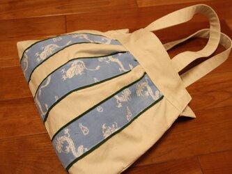 Ⅿ様オーダー品 古布手ぬぐい バッグの画像