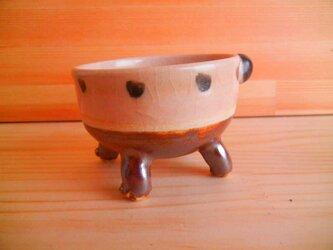 ニャンカップNo.999:ピンクと茶の丸しっぽの画像