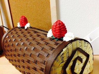 チョコケーキBOXティッシュカバーの画像
