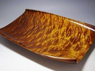 楠玉杢造り流風紋盛り器の画像