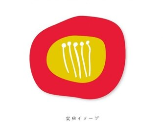 ツバキポストカード【2枚1組×2セット】の画像