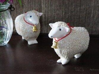羊の置物 の画像