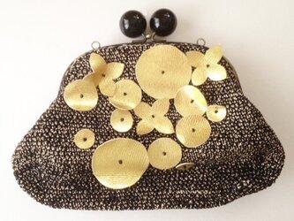ゴールドモチーフバッグの画像