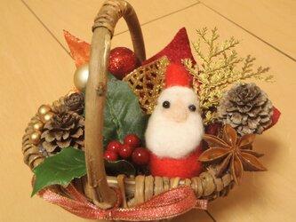 いっぱい詰め込み☆ミニクリスマス籠ver.2の画像