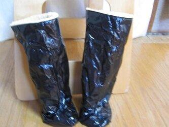 41501  ブーツ風レッグウォーマー の画像